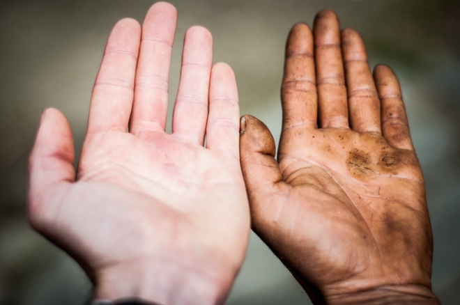 Our hands tell their own story