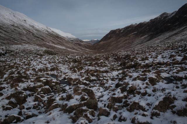 Forcan Ridge - the walk in